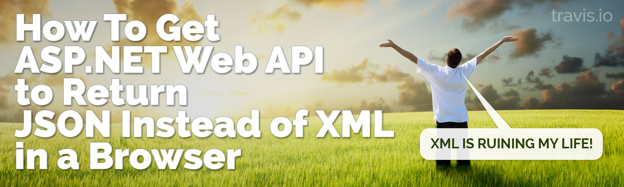 How To Get ASP.NET Web API to Return JSON Instead of XML in a Browser