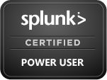 Splunk Certified User 6.x